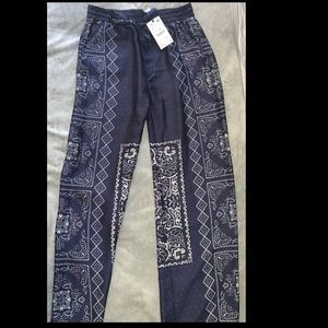 New! Zara wide leg pants